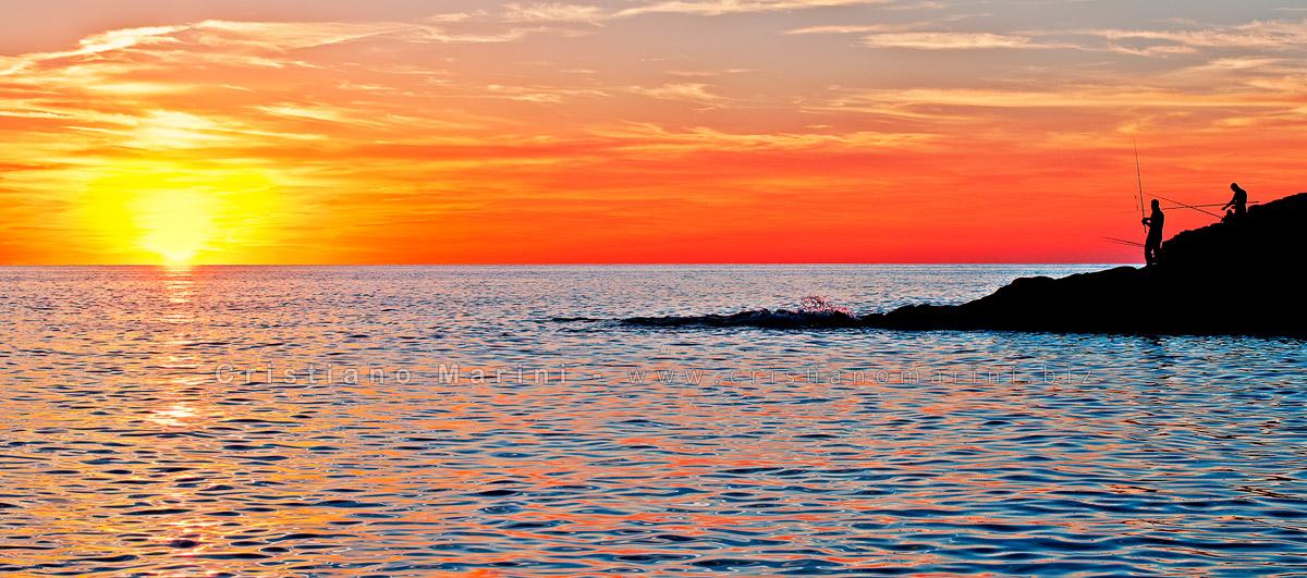 Al tramonto